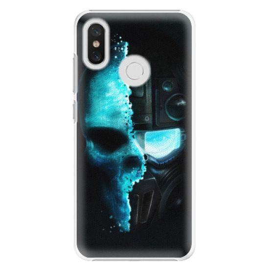 iSaprio Plastový kryt - Roboskull pre Xiaomi Mi 8