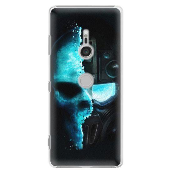 iSaprio Plastový kryt - Roboskull pre Sony Xperia XZ3
