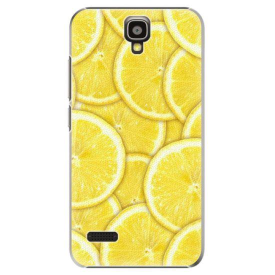 iSaprio Plastový kryt - Yellow pre Huawei Y5
