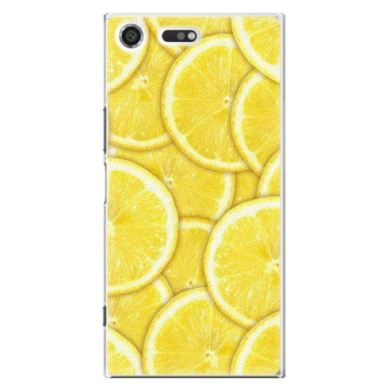 iSaprio Plastový kryt - Yellow pro Sony Xperia XZ Premium