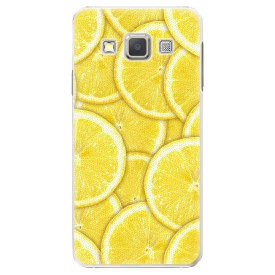 iSaprio Plastový kryt - Yellow pre Samsung Galaxy A7