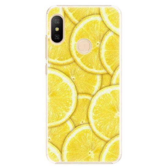 iSaprio Plastový kryt - Yellow pro Xiaomi Mi A2 Lite
