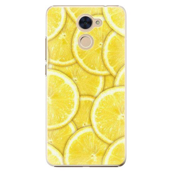iSaprio Plastový kryt - Yellow pre Huawei Y7