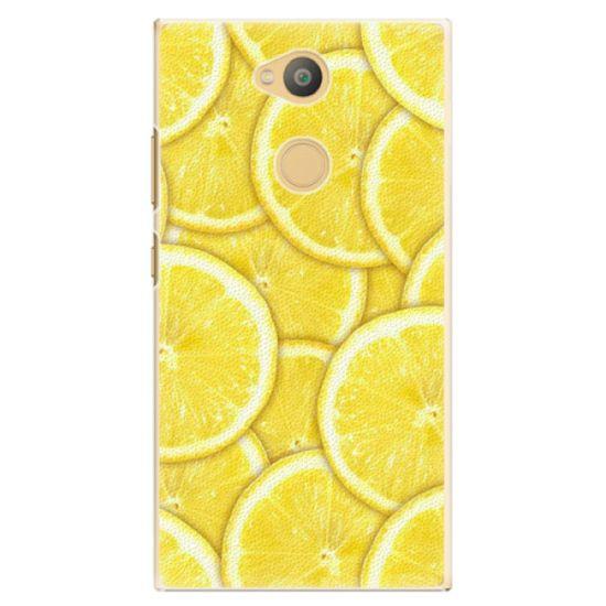 iSaprio Plastový kryt - Yellow pre Sony Xperia L2