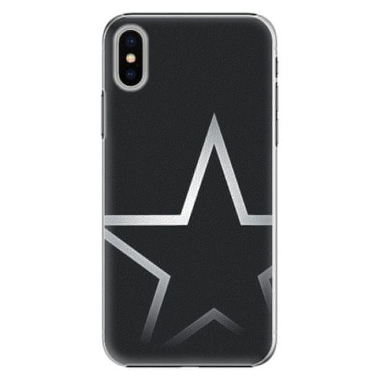 iSaprio Plastový kryt - Star pre Apple iPhone X