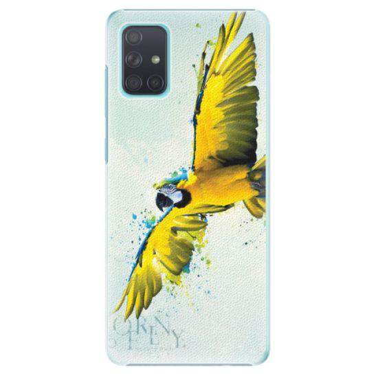 iSaprio Plastový kryt - Born to Fly pre Samsung Galaxy A71