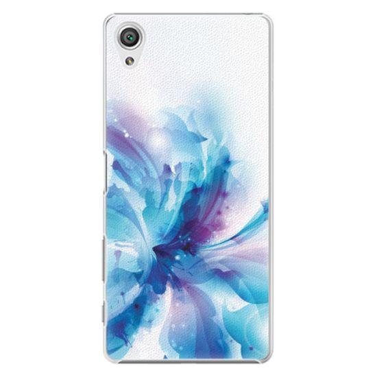 iSaprio Plastový kryt - Abstract Flower pre Sony Xperia X