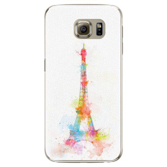 iSaprio Plastový kryt - Eiffel Tower pro Samsung Galaxy S6 Edge Plus