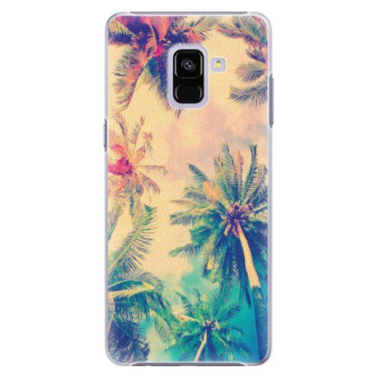 iSaprio Plastový kryt - Palm Beach pre Samsung Galaxy A8 plus