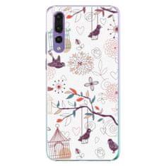 iSaprio Plastový kryt - Birds pro Huawei P20 Pro