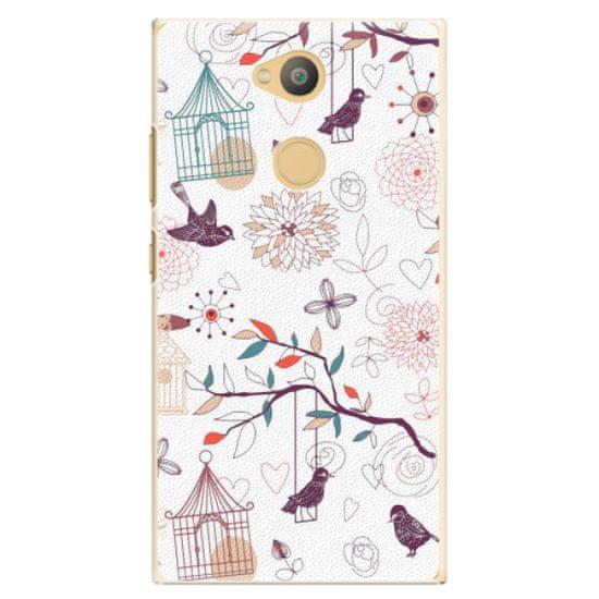 iSaprio Plastový kryt - Birds pro Sony Xperia L2