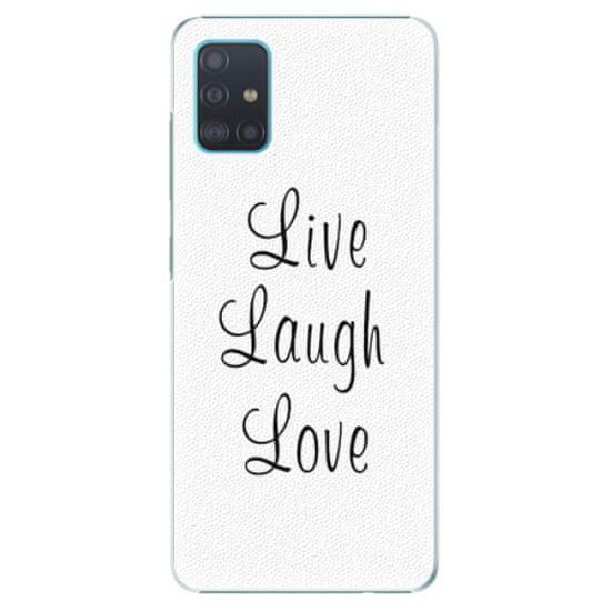 iSaprio Plastový kryt - Live Laugh Love pre Samsung Galaxy A51
