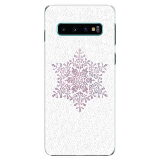 iSaprio Plastový kryt - Snow Flake pro SAMSUNG GALAXY S10