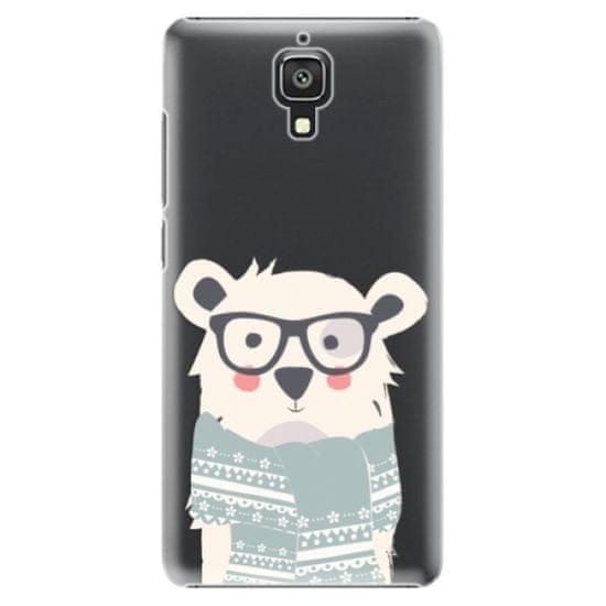 iSaprio Plastový kryt - Bear with Scarf pro Xiaomi Mi4