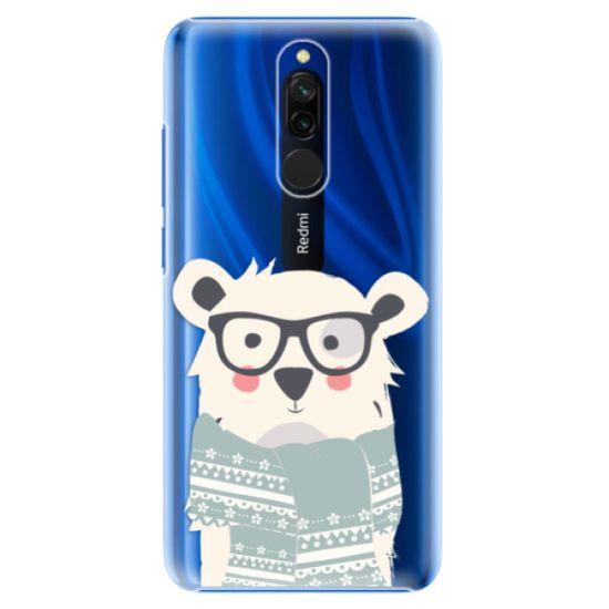 iSaprio Plastový kryt - Bear with Scarf pre Xiaomi Redmi 8