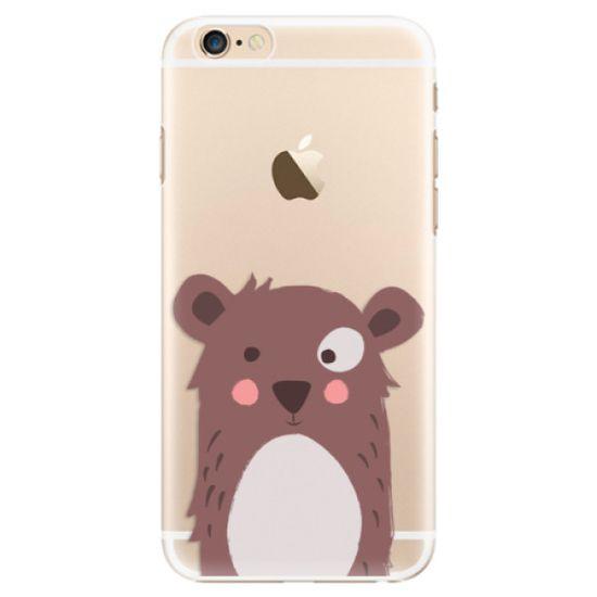 iSaprio Plastový kryt - Brown Bear pre Apple iPhone 6