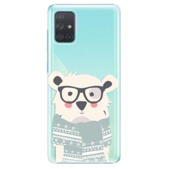 iSaprio Plastový kryt - Bear with Scarf pre Samsung Galaxy A71