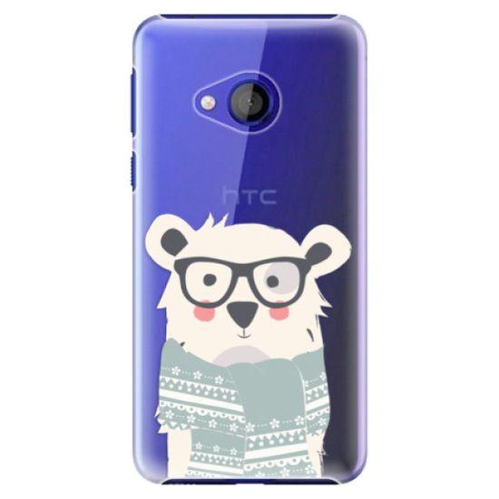 iSaprio Plastový kryt - Bear with Scarf pro HTC U Play