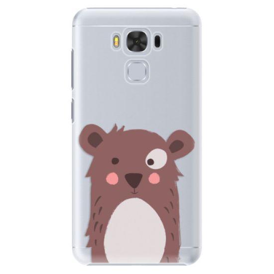 iSaprio Plastový kryt - Brown Bear pro Asus ZenFone 3 Max (ZC553KL)