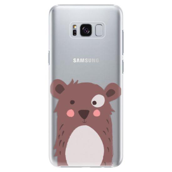 iSaprio Plastový kryt - Brown Bear pre Samsung Galaxy S8+