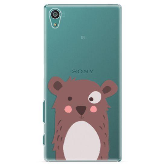 iSaprio Plastový kryt - Brown Bear pre Sony Xperia Z5