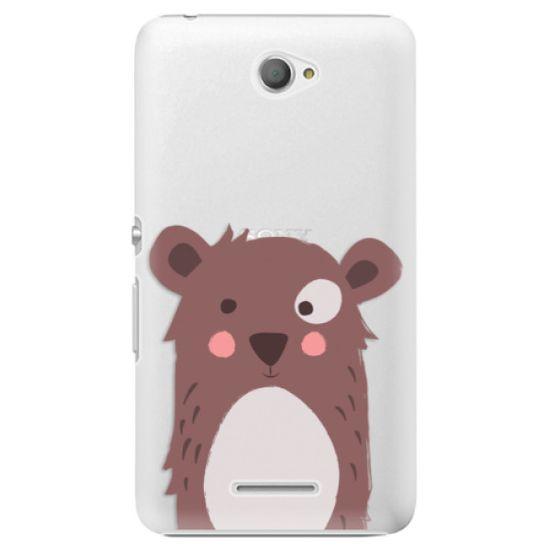 iSaprio Plastový kryt - Brown Bear pre Sony Xperia E4