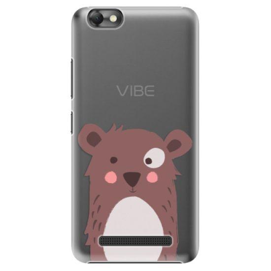 iSaprio Plastový kryt - Brown Bear pre Lenovo Vibe C