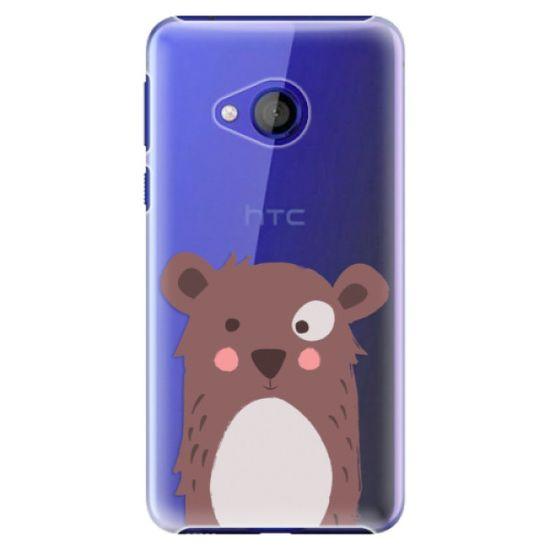 iSaprio Plastový kryt - Brown Bear pre HTC U Play