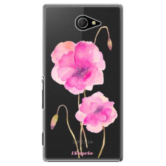 iSaprio Plastový kryt - Poppies 02 pre Sony Xperia M2