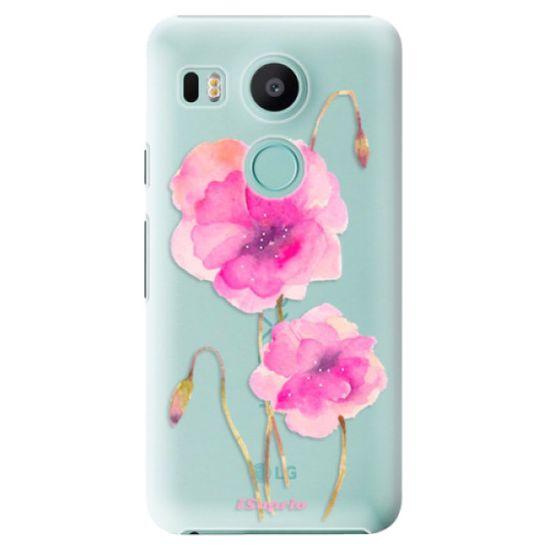 iSaprio Plastový kryt - Poppies 02 pro LG Nexus 5X