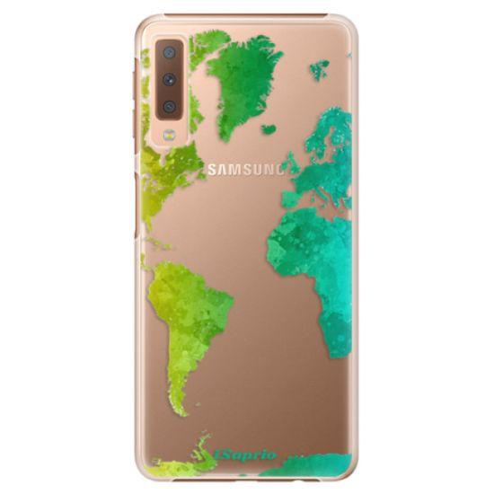 iSaprio Plastový kryt - Cold Map pre Samsung Galaxy A7 (2018)
