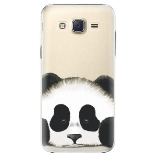 iSaprio Plastový kryt - Sad Panda pre Samsung Galaxy Core Prime