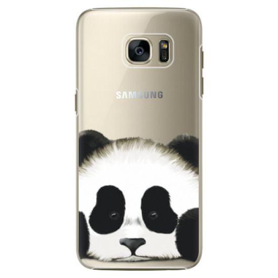 iSaprio Plastový kryt - Sad Panda pre Samsung Galaxy S7