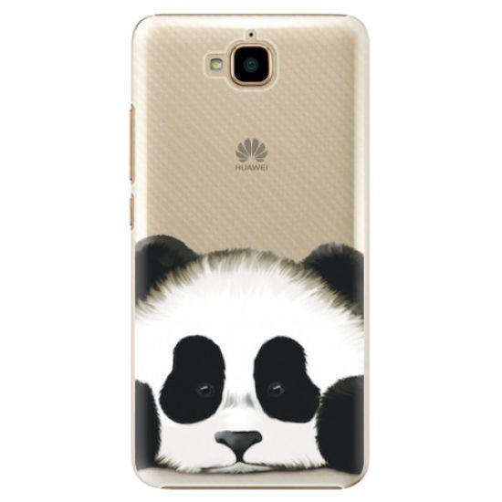 iSaprio Plastový kryt - Sad Panda pre Huawei Y6 Pro