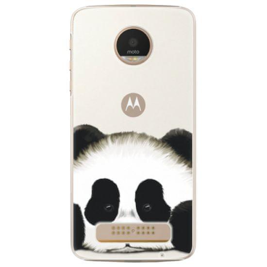 iSaprio Plastový kryt - Sad Panda pre Lenovo Moto Z Play