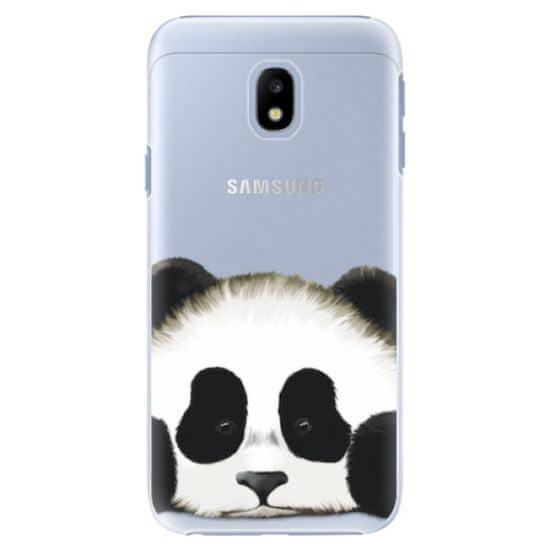 iSaprio Plastový kryt - Sad Panda pro Samsung Galaxy J3 (2017)