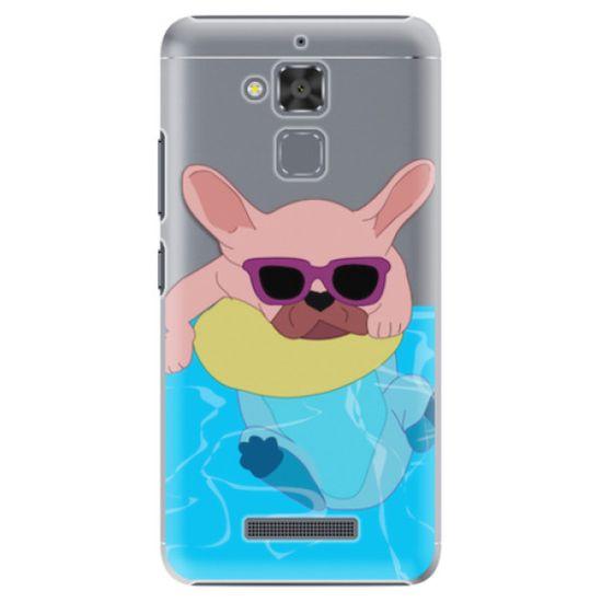 iSaprio Plastový kryt - Swimming Dog pro Asus ZenFone 3 Max (ZC520TL)