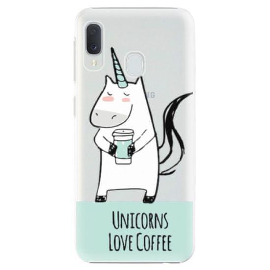 iSaprio Plastový kryt - Unicorns Love Coffee pre Samsung Galaxy A20e
