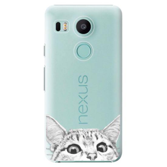iSaprio Plastový kryt - Cat 02 pro LG Nexus 5X