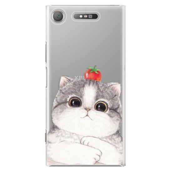iSaprio Plastový kryt - Cat 03 pre Sony Xperia XZ1