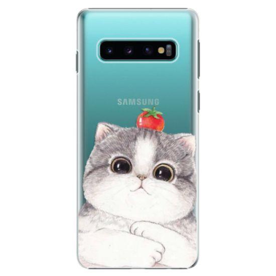 iSaprio Plastový kryt - Cat 03 pre SAMSUNG GALAXY S10