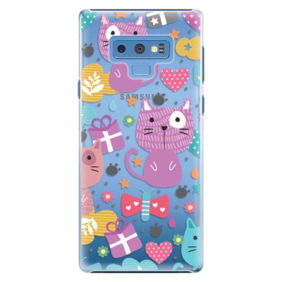 iSaprio Plastový kryt - Cat pattern 01 pro Samsung Galaxy Note 9