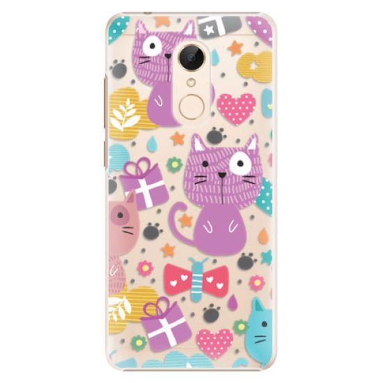 iSaprio Plastový kryt - Cat pattern 01 pre Xiaomi Redmi 5