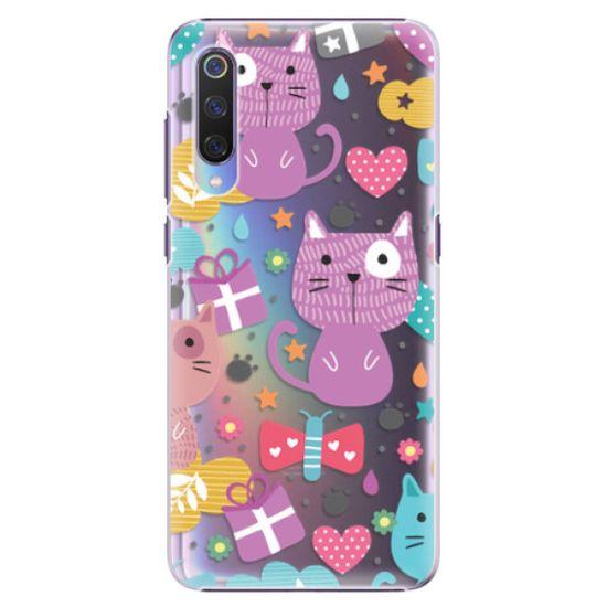 iSaprio Plastový kryt - Cat pattern 01 pro Xiaomi Mi 9