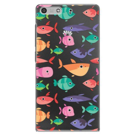 iSaprio Plastový kryt - Fish pattern 01 pro Huawei Ascend P7 Mini