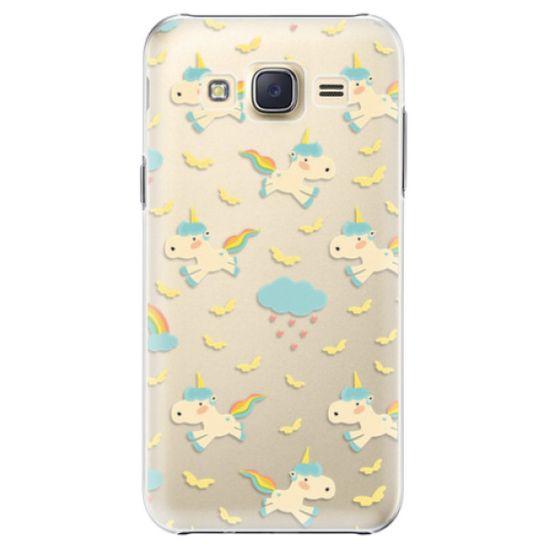 iSaprio Plastový kryt - Unicorn pattern 01 pro Samsung Galaxy J5