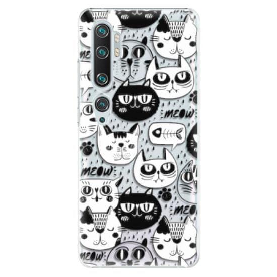 iSaprio Plastový kryt - Cat pattern 03 pro Xiaomi Mi Note 10 / Note 10 Pro