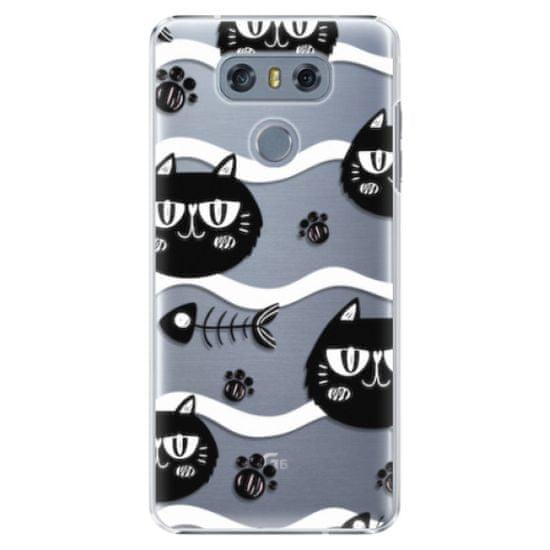 iSaprio Plastový kryt - Cat pattern 04 pro LG H870 G6