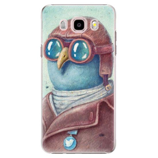 iSaprio Plastový kryt - Pilot twitter pre Samsung Galaxy J5 (2016)
