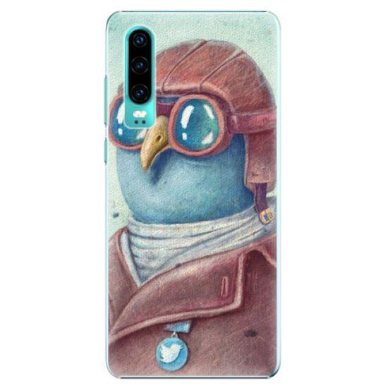 iSaprio Plastový kryt - Pilot twitter pre Huawei P30
